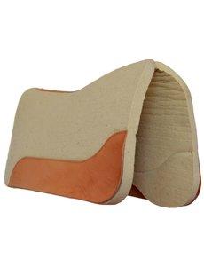 Horse Gear Filzpad SixPro Horse Gear, Filz: rohweiß, Leder: natur geölt