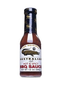The Original Australian Hot & Spicy BBQ Sauce 355ml