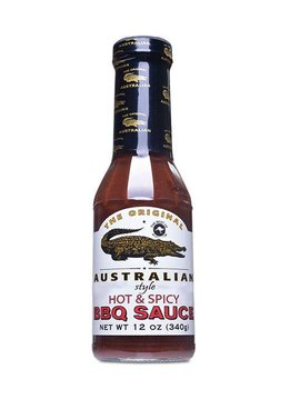 The Original Australian Hot & Spicy BBQ Sauce 355ml