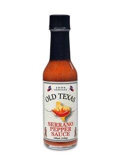 Old Texas Serrano Pepper Sauce 148ml - wg. MHD 28.12.19