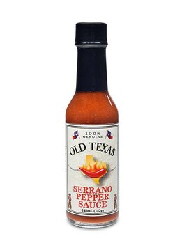 Old Texas Serrano Pepper Sauce 148ml