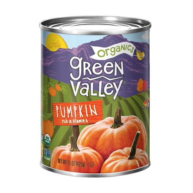 Green Valley Green Valley Pumpkin- Kürbispüree, BIO 425g