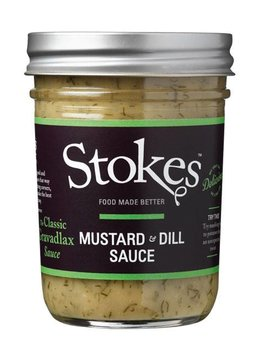 Stokes Mustard & Dill Sauce 214ml