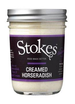 Stokes Creamed Horseradish Sauce 215ml - wg. MHD 30.09.2019