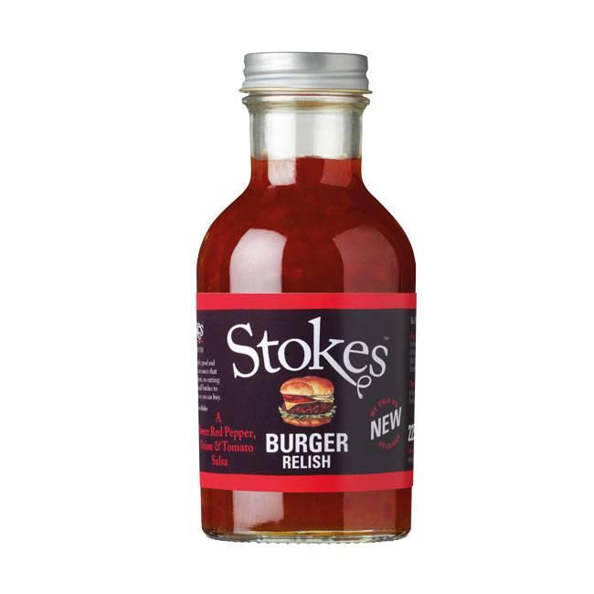 Stokes Burger Relish 265ml