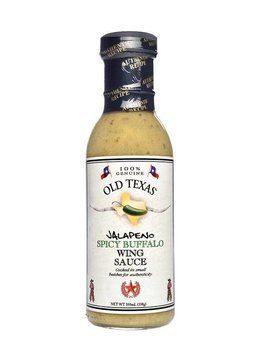 Old Texas Jalapeno Buffalo Wing Sauce 350ml