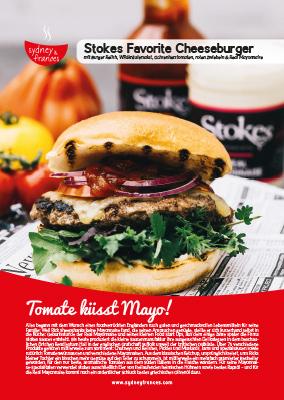 Stokes Cheese Burger - Rezept