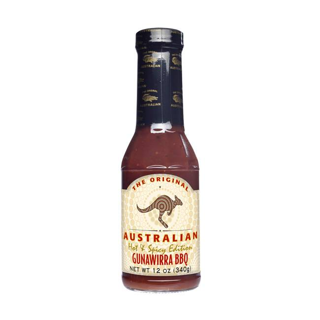 The Original Australian Gunawirra Hot & Spicy BBQ Sauce 355ml