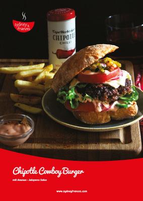 Chipotle Cowboy Burger