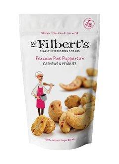 Mr. Filbert's Peruvian Pink Peppercorn Cashews and Peanuts 110g - wg. MHD 31.10.2019