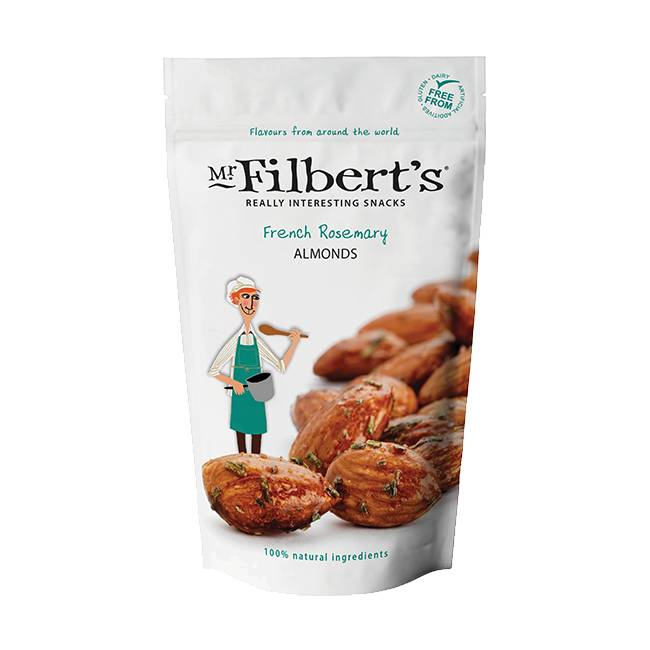 Mr. Filbert's French Rosemary Almonds 110g