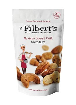 Mr. Filbert's Mexican Sweet Chilli Mixed Nuts 110g