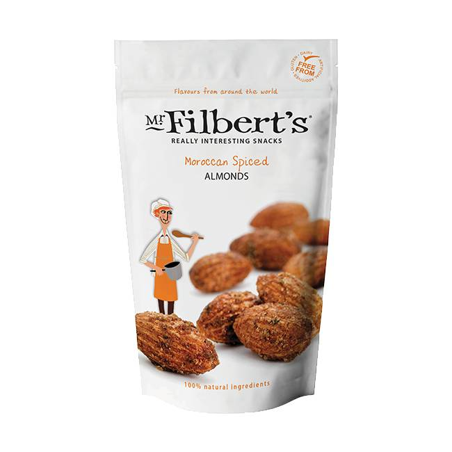 Mr. Filbert's Moroccan Spiced Almonds 110g