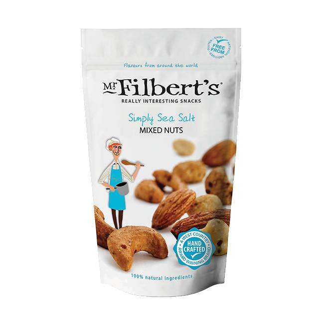 Mr. Filbert's  Simply Sea Salt Mixed Nuts 110g