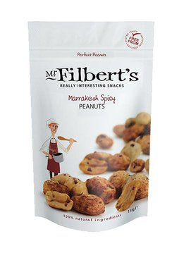 Mr. Filbert's Marrakesh Spicy Peanuts 110g