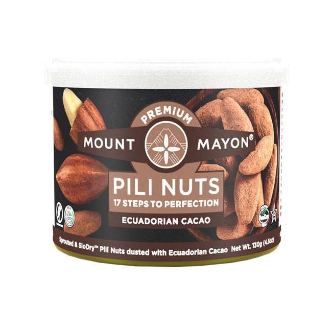 Mount Mayon Pili Nuts Ecuadorian Cacao 12g, 28g, 85g oder 130g