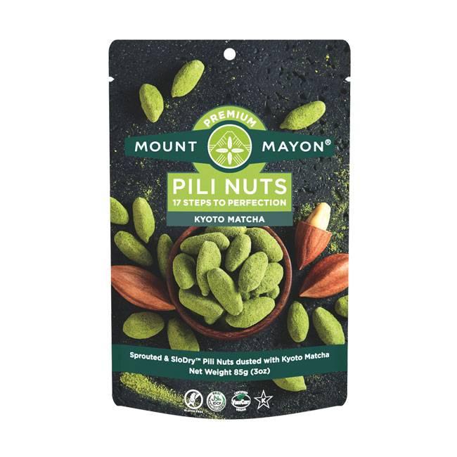 Mount Mayon Pili Nuts Kyoto Matcha 12g, 28g, 85g oder 130g