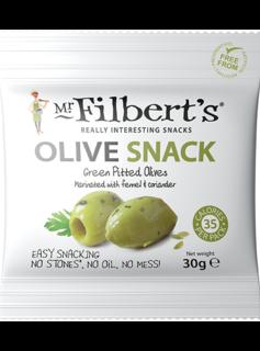 Mr. Filbert's Green Olives Fennel & Coriander 30g