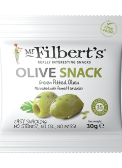 Mr. Filbert's Green Olives Fennel & Coriander 30g