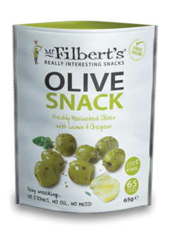 Mr. Filbert's Green Olives Lemon & Oregano 65g