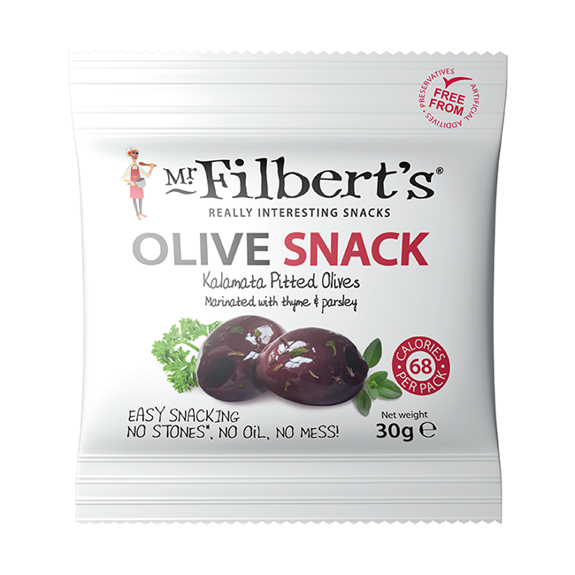 Mr. Filbert's Kalamata Olives Thyme & Parsley 30g