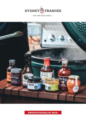 Produktkatalog  Sydney & Frances 2019 - The Fine Food Family