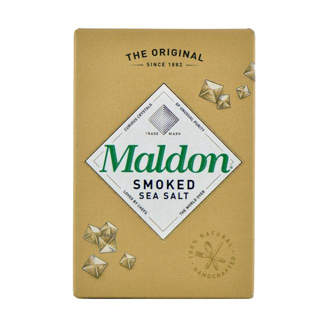 Maldon Sea Salt Smoked Sea Salt - 125g oder 500g