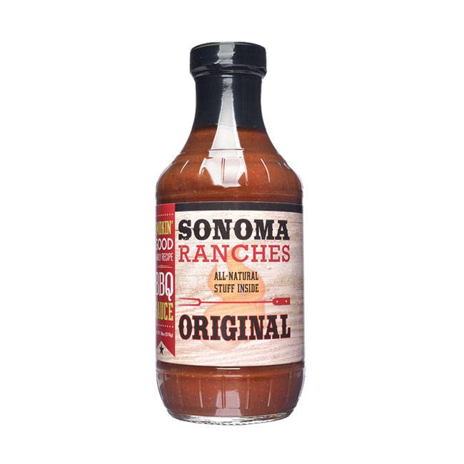 Sonoma Ranchers BBQ Sauce Original 455ml