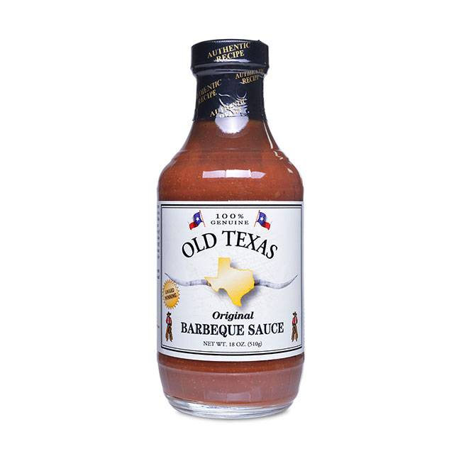 Old Texas Original BBQ Sauce 455ml