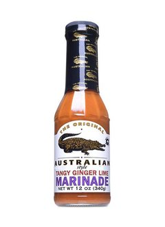 The Original Australian Tangy Ginger Lime Marinade 355ml