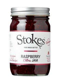 Stokes Raspberry Extra Jam 454g