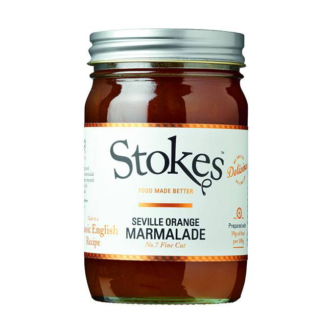 Stokes Seville Orange Marmalade No. 7 - 454g