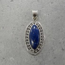 Lima lapis lazuli kettingbedel