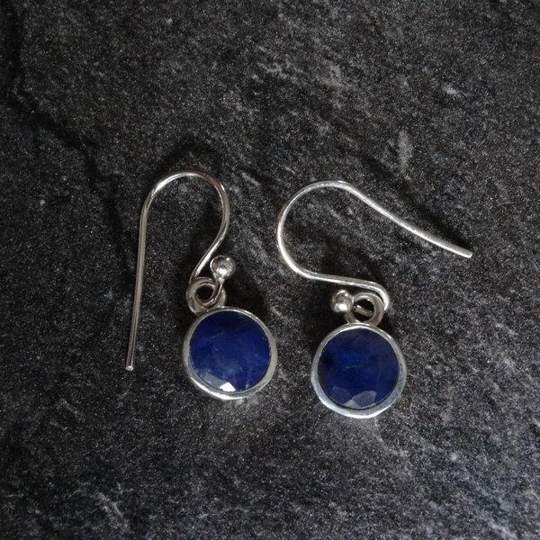 Agaat oorbellen - 925 sterling zilver
