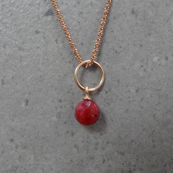 Robijn bedel -  Rosé Goud