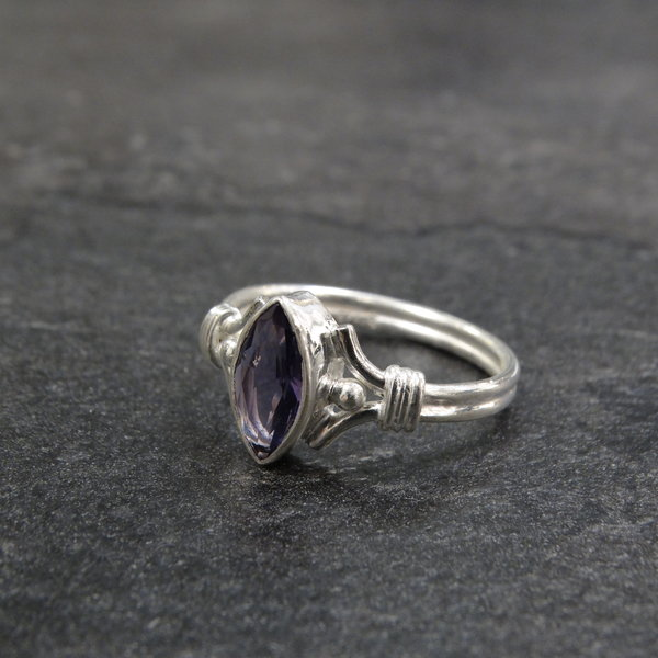 Amethist ring - 925 sterling zilver