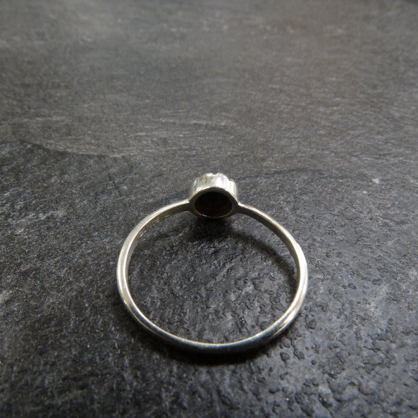 Onxy ring - 925 sterling zilver
