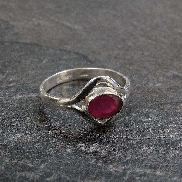 Jade ring - 925 sterling zilver
