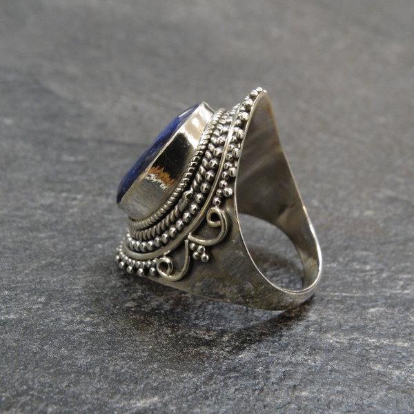 Sodaliet ring - 925 sterling zilver