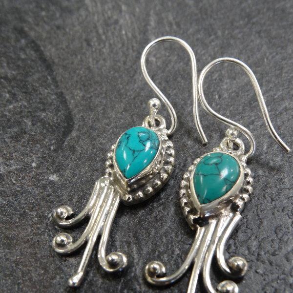 Howliet oorbellen - 925 sterling zilver
