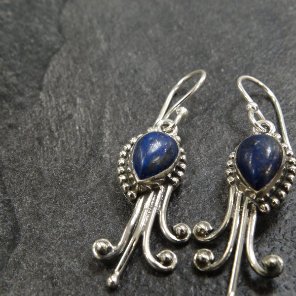 Lapis Lazuli  - 925 sterling zilver
