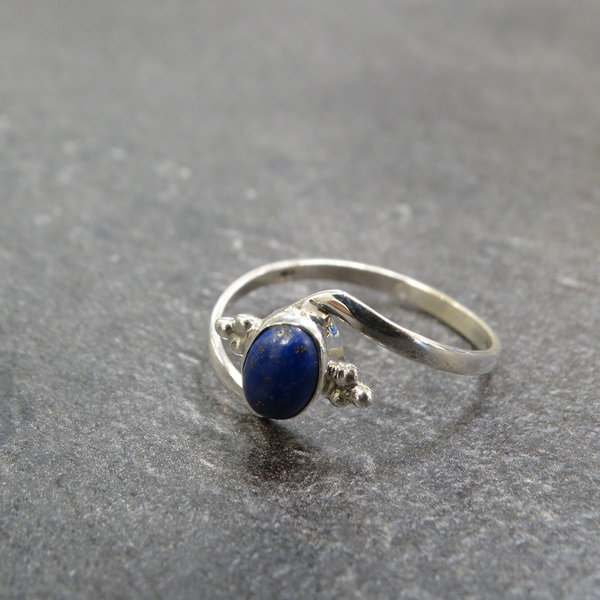 Lapis Lazuli ring - 925 sterling zilver