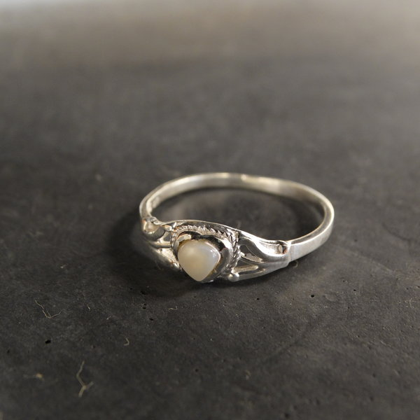 Parelmoer ring - 925 sterling zilver