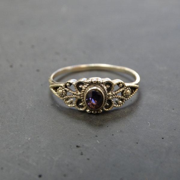 Amethist ring - 925 sterling zilver