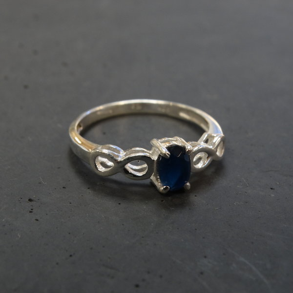 Agaat ring - 925 sterling zilver
