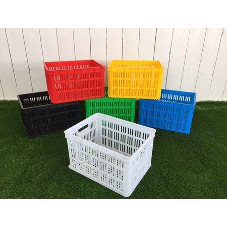 Edge Fietskrat Urban Crate 26L Zwart