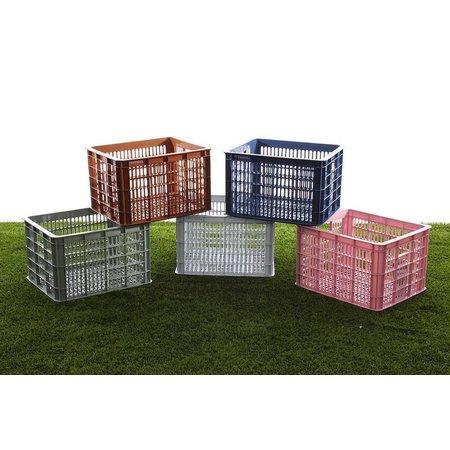 Basil Fietskrat Crate 33L Bluestone