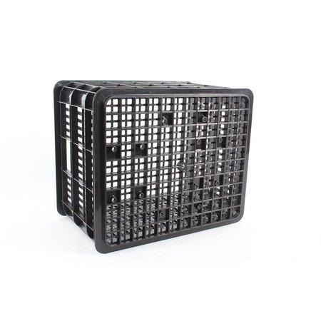 Basil Fietskrat Medium Zwart 33L voor MIK en Racktime