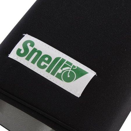 Snell accu - / batterij cover zwart voor frame-accu