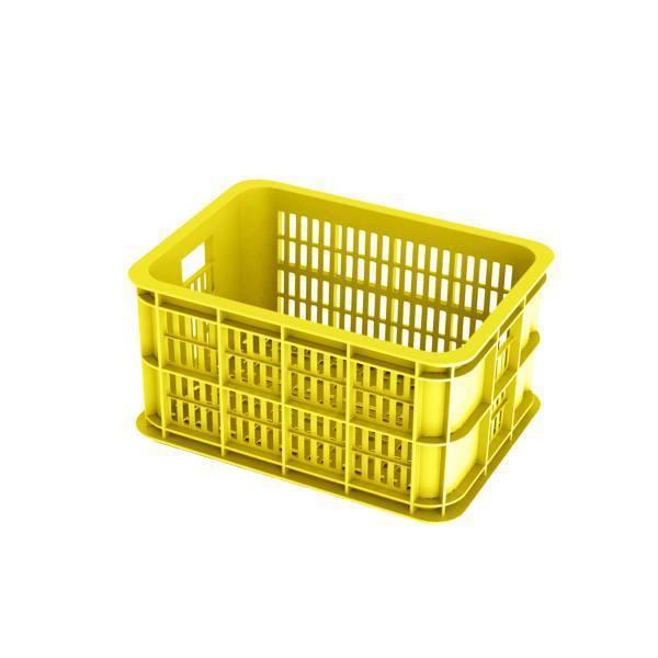 Basil Fietskrat Crate 25L Lemon
